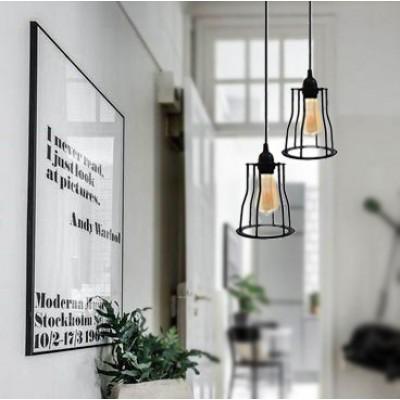 VINTAGE INDUSTRIAL LAMP B
