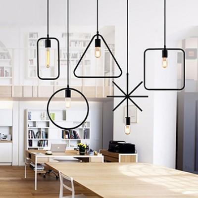 VINTAGE INDUSTRIAL LAMP A +B+C+D+E