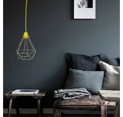 GOLDEN CAGE PENDANT LIGHT