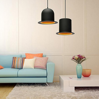 BOWLER AND TOP HAT PENDANT LIGHTS