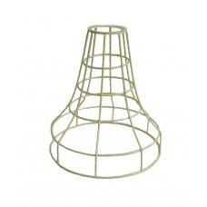 метален абажур - шапка - жълт