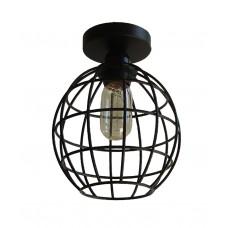 лампа за таван с метален абажур