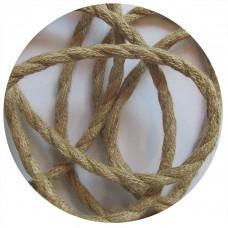 текстилен кабел - усукан - коноп