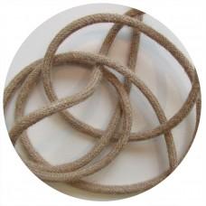 текстилен кабел - кръгло сечение - коноп