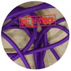 текстилен кабел - кръгло сечение - лилав