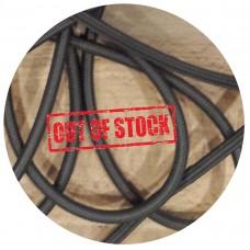 текстилен кабел - кръгло сечение - сив