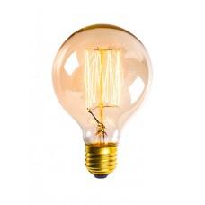 винтидж крушка - нажежаема жичка - намотка: цилиндър - Е27 - G80 - 40W