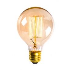 винтидж крушка - нажежаема жичка - намотка: цилиндър - Е27 - G95 - 40W
